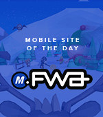 Mobile Site of the Day by FWA
